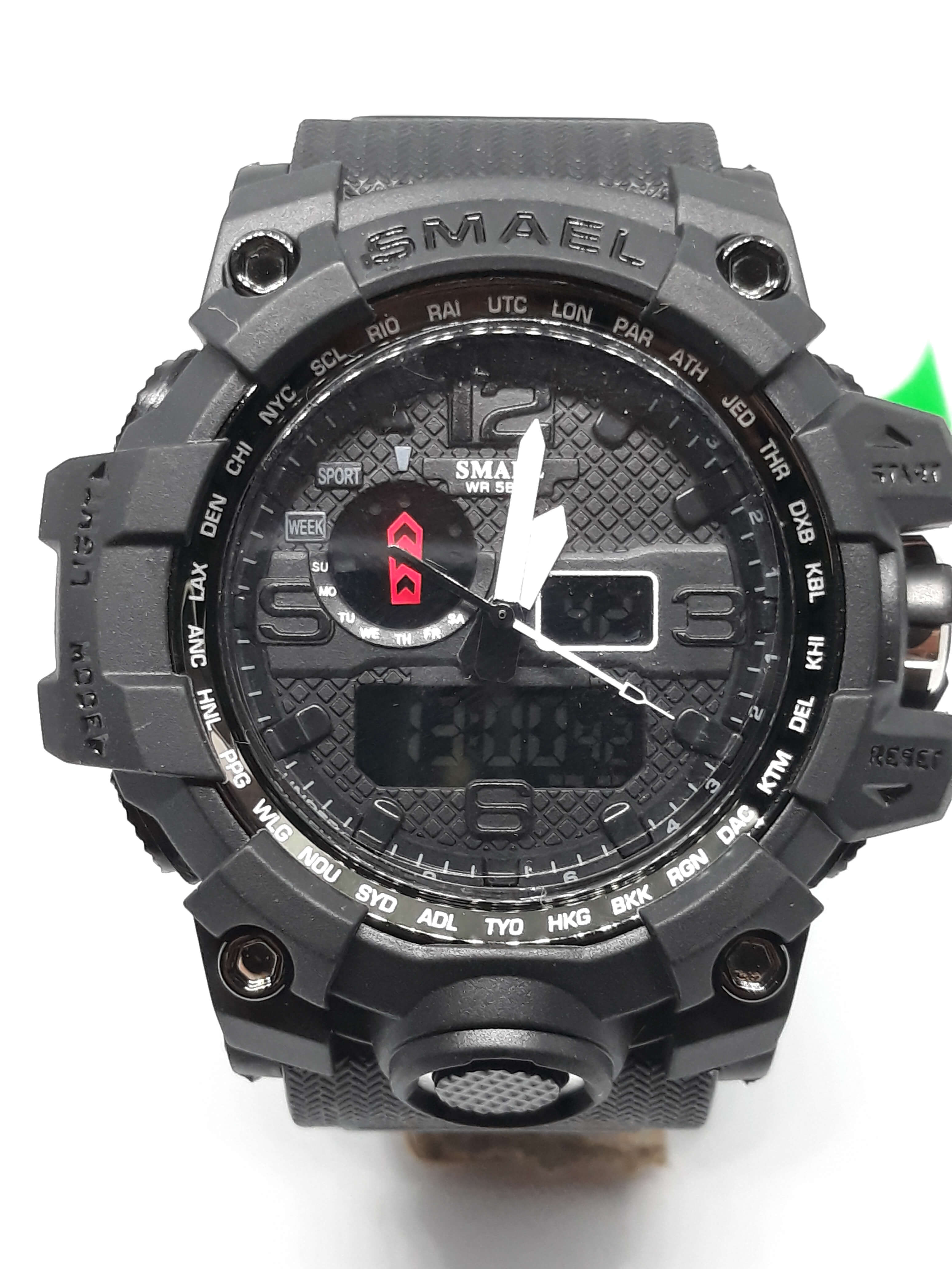 Zegarek Smael Camouflage czarny 15