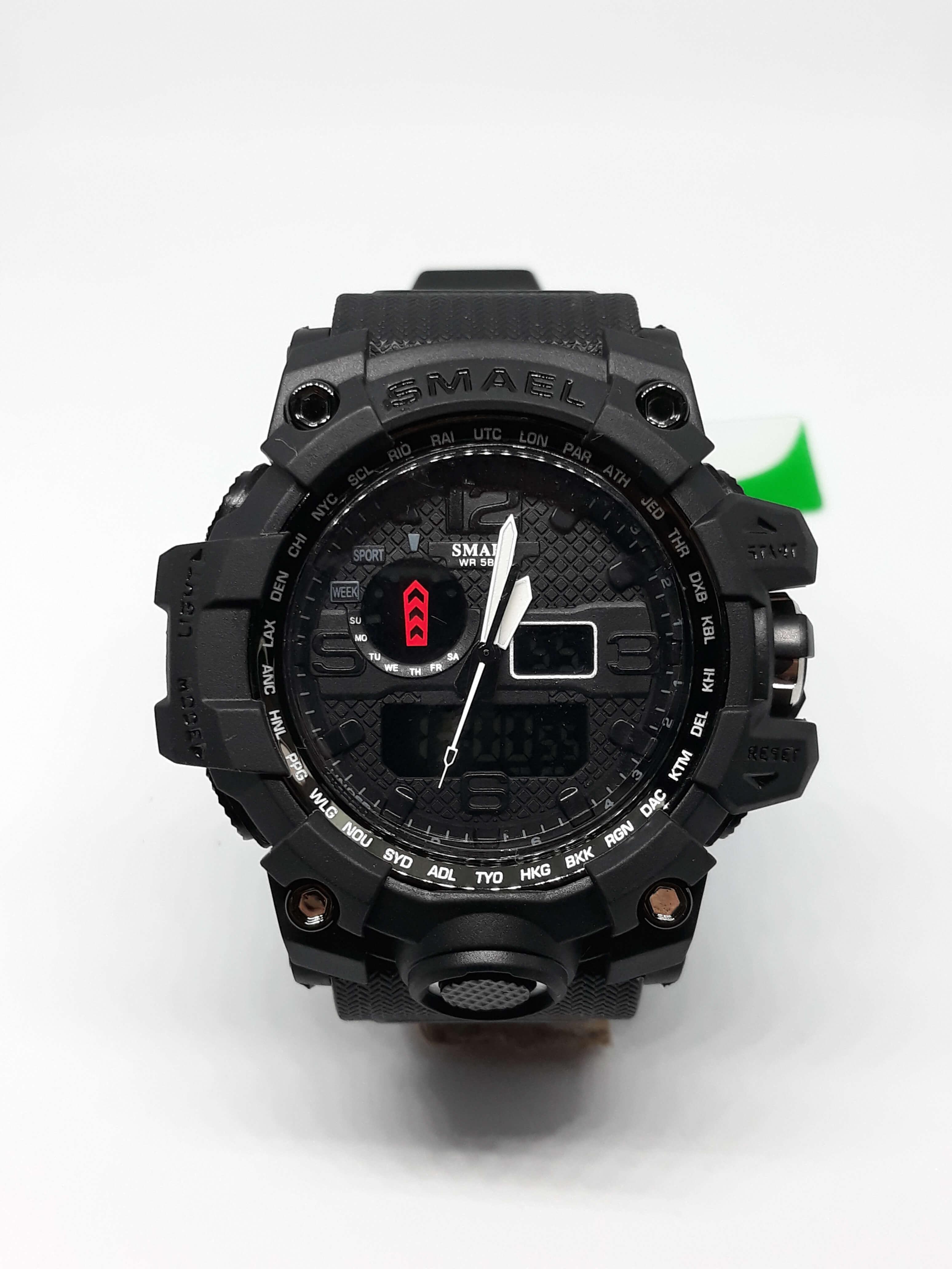 Zegarek Smael Camouflage czarny 16