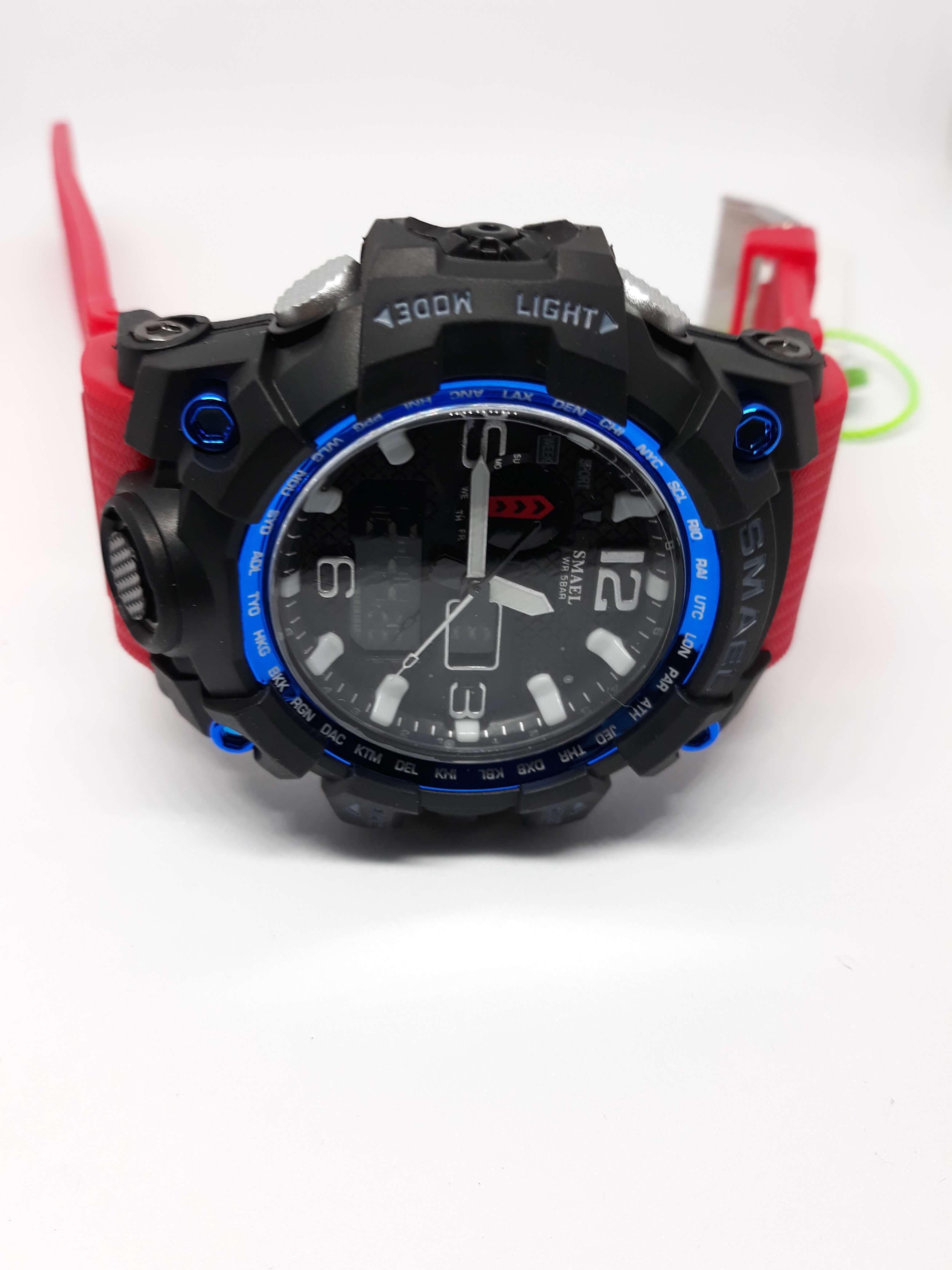Zegarek Smael Camouflage czerwony 3
