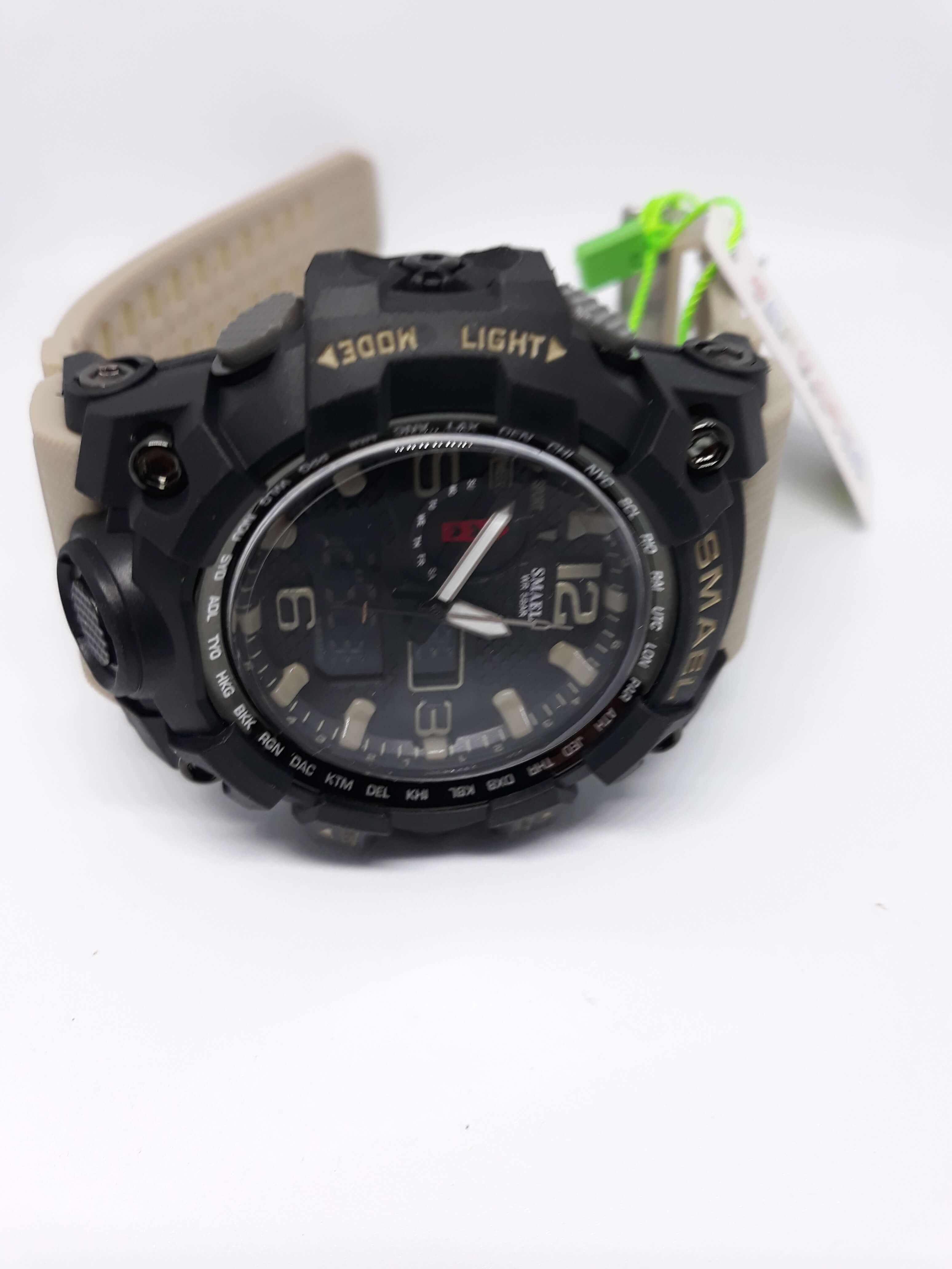 Zegarek Smael Camouflage khaki 9