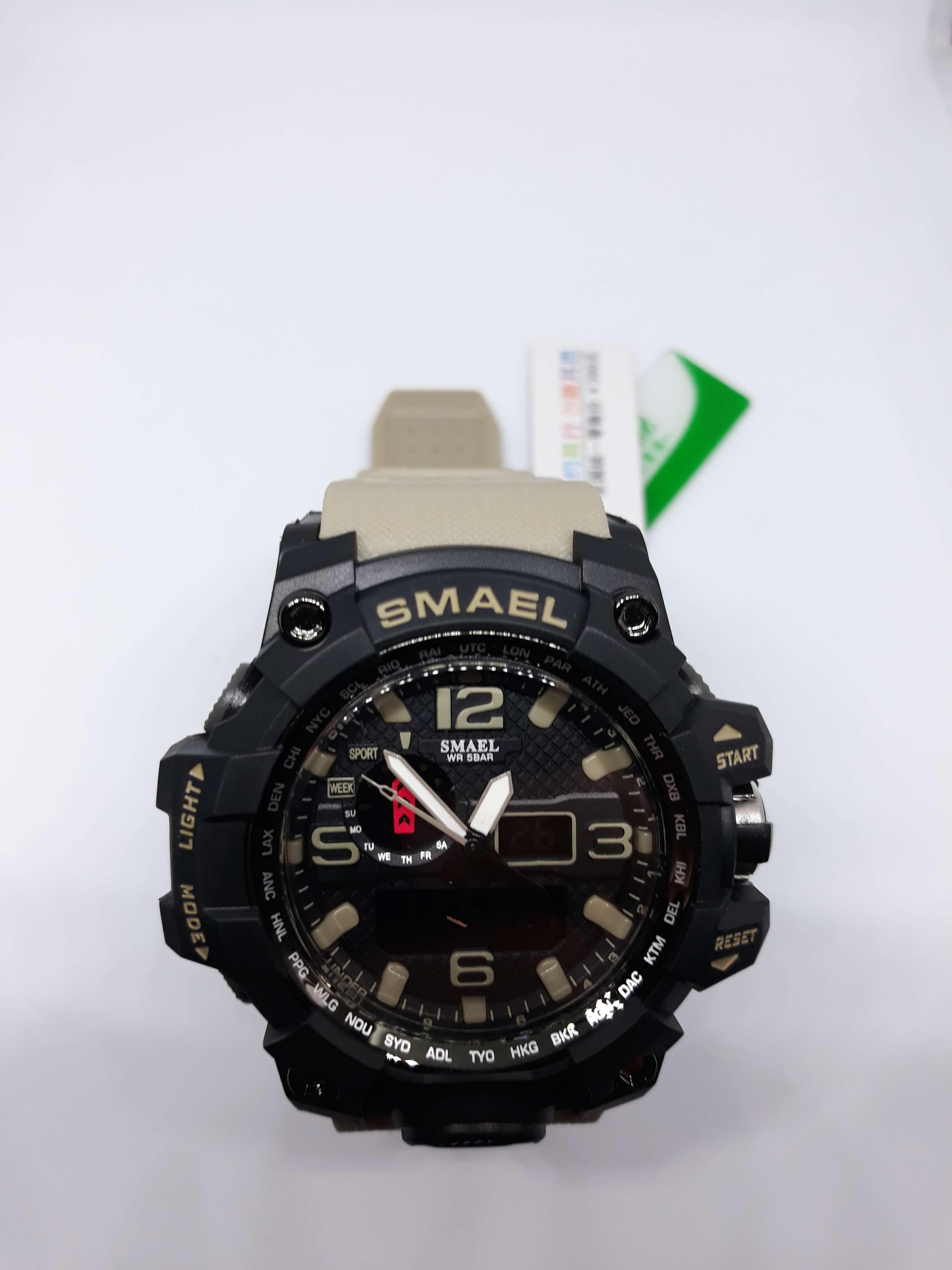 Zegarek Smael Camouflage khaki 13