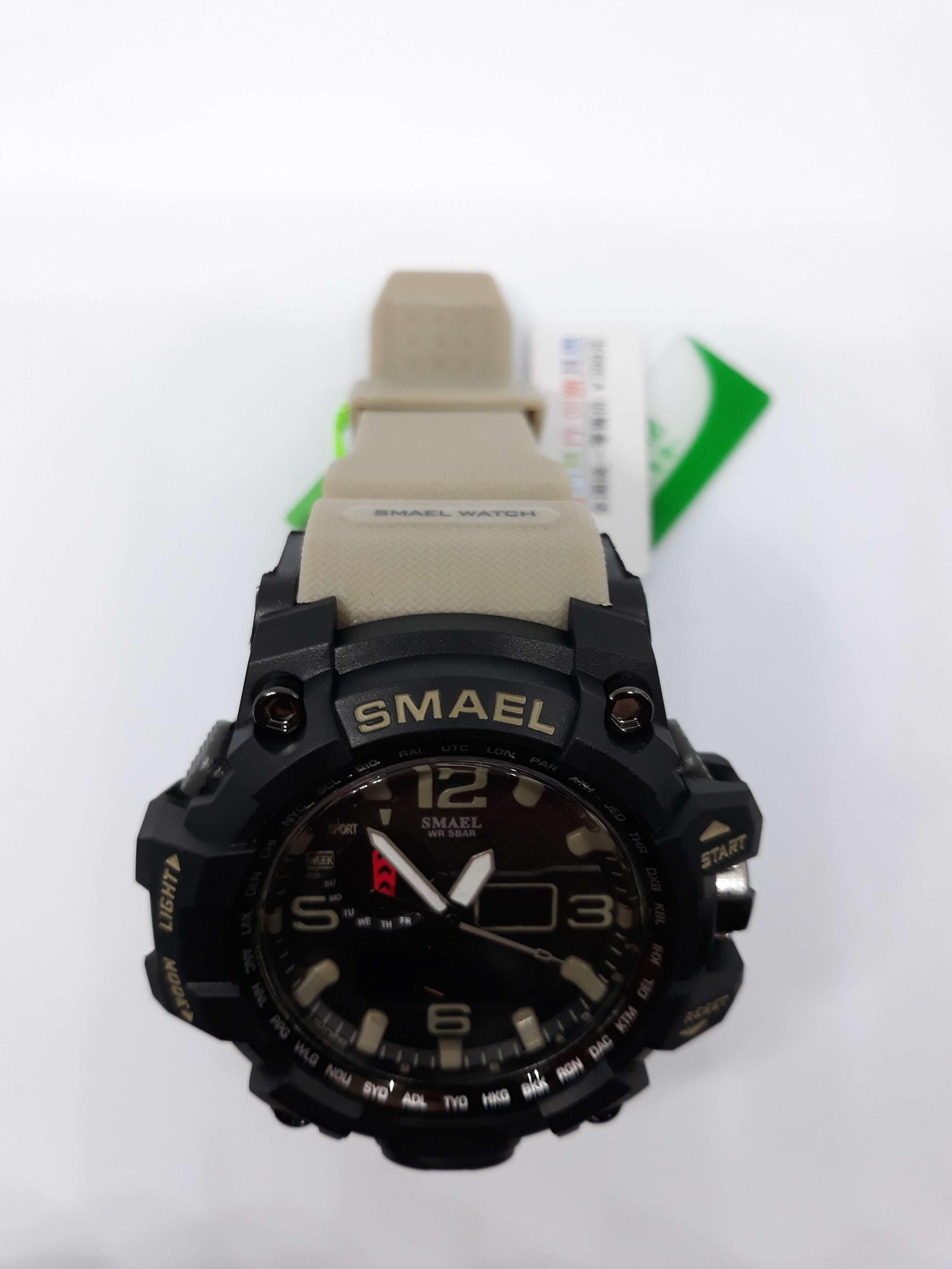 Zegarek Smael Camouflage khaki 14