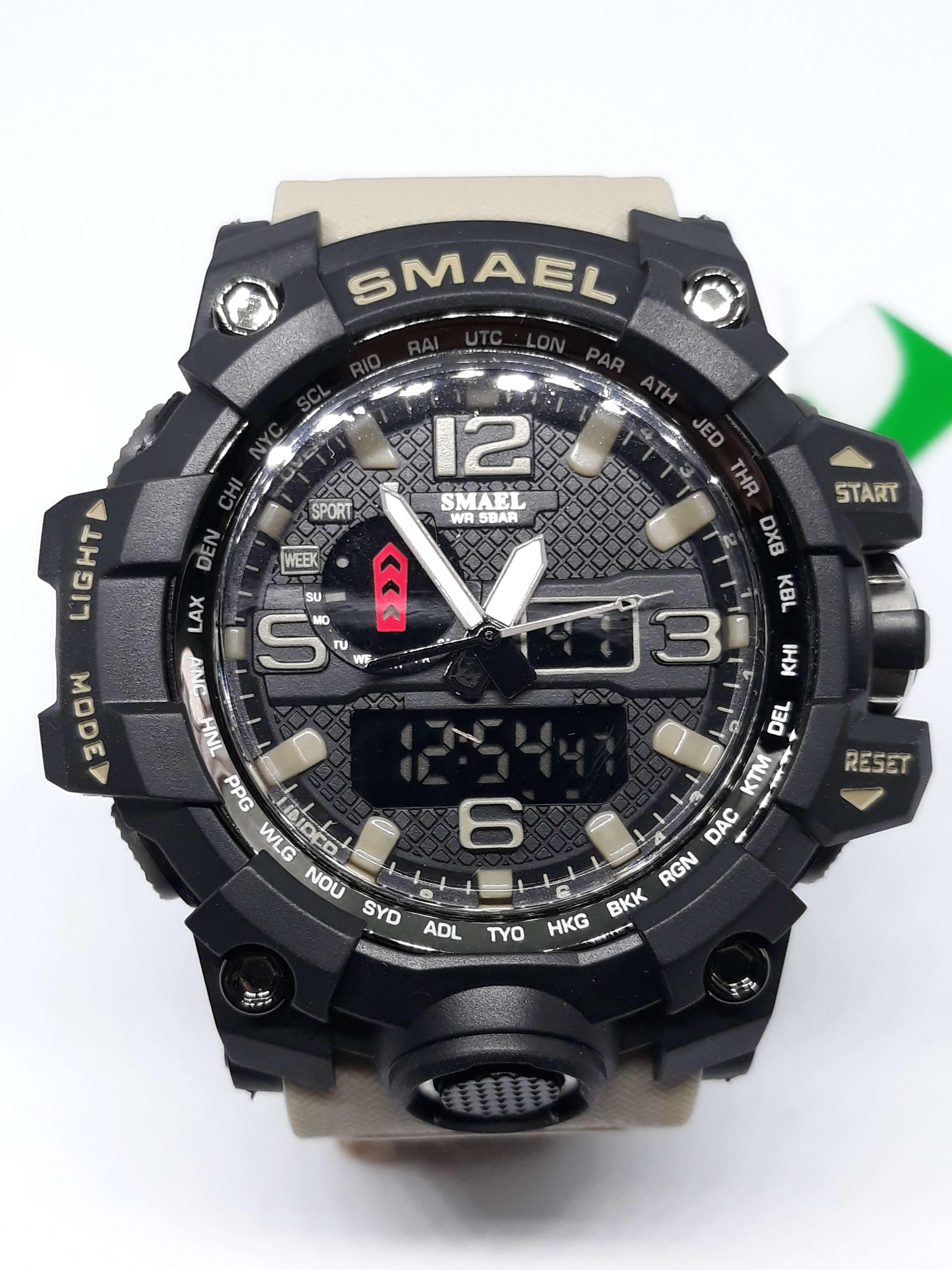 Zegarek Smael Camouflage khaki 8