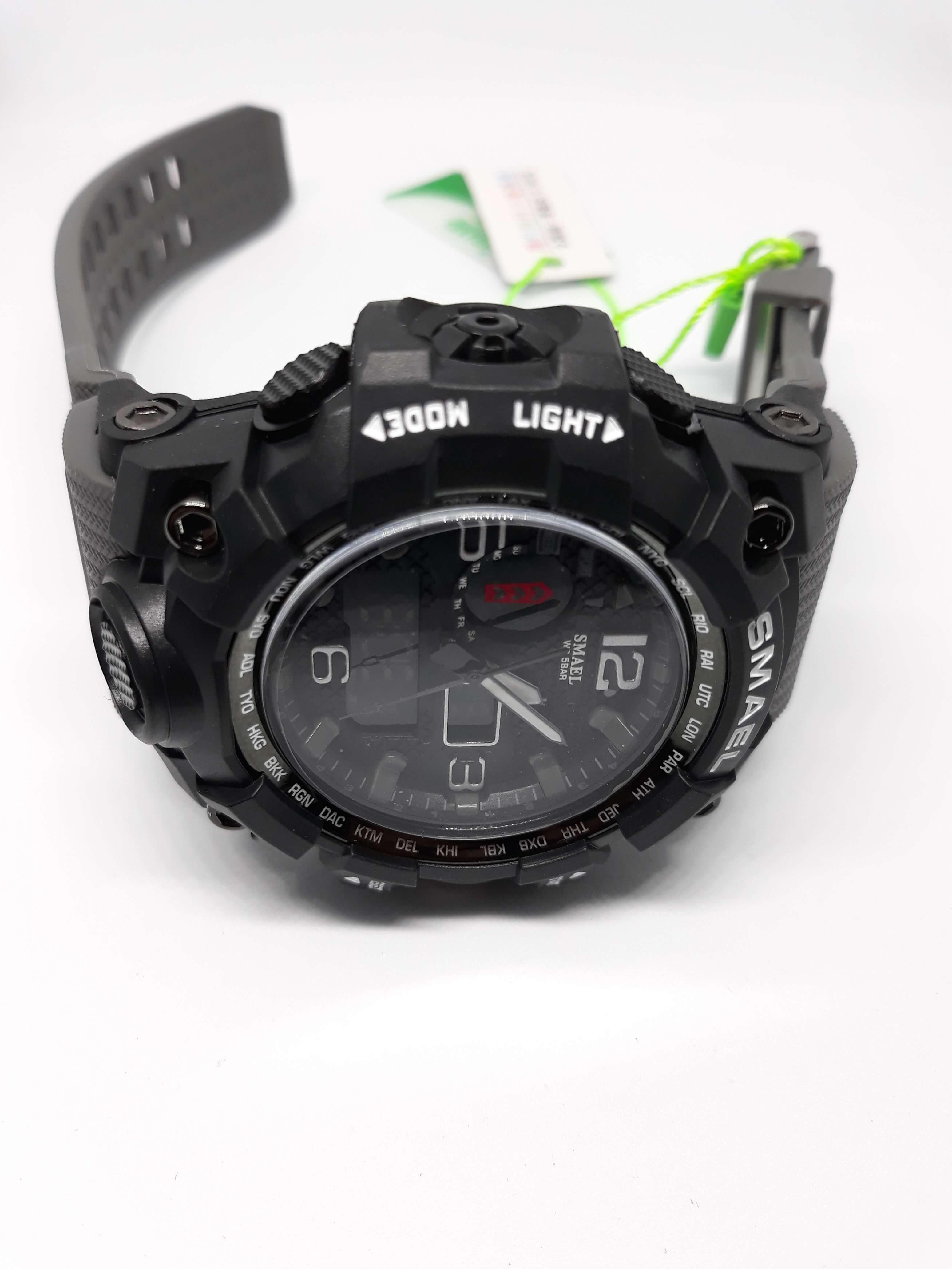 Zegarek Smael Camouflage szary 10