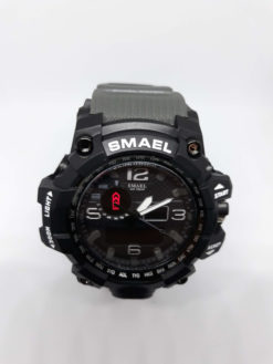 Zegarek Smael Camouflage szary 6