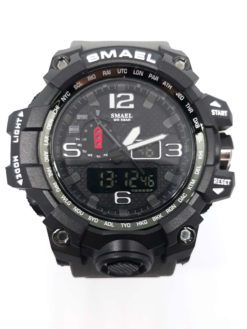 Zegarek Smael Camouflage szary 1