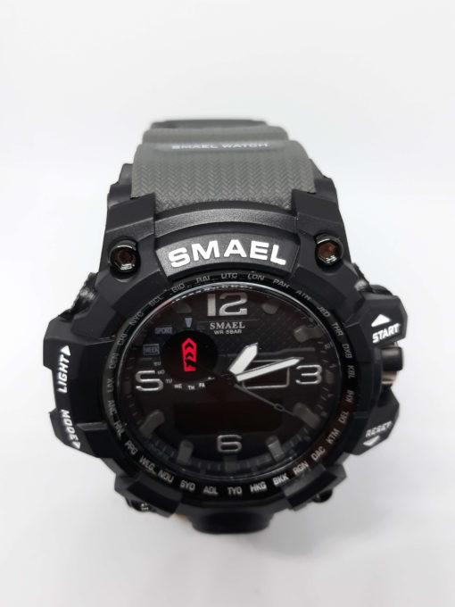 Zegarek Smael Camouflage szary