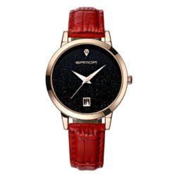 Zegarek Sanda Jane czerwony 5