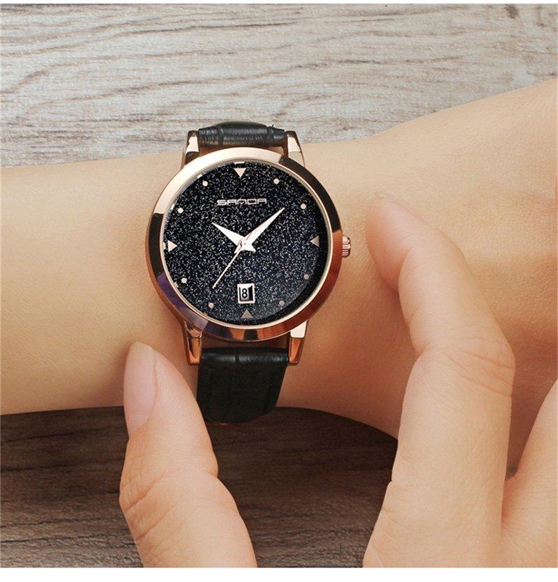 Zegarek Sanda Star czarny 12