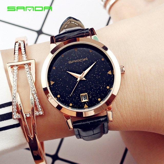 Zegarek Sanda Star czarny 13