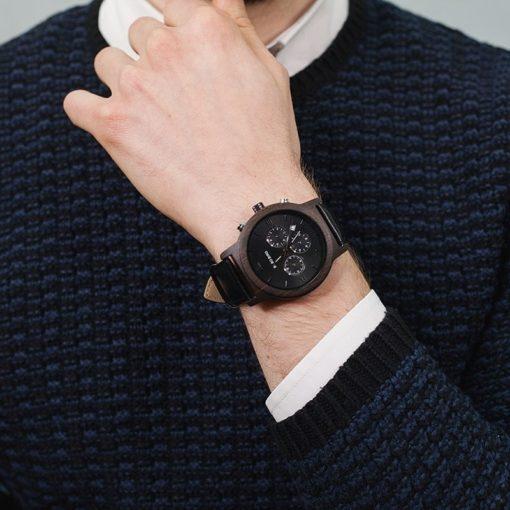 Zegarek drewniany Bobo Bird Luxury P28-1