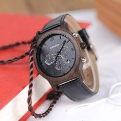 Zegarek drewniany Bobo Bird Luxury P28-1 2