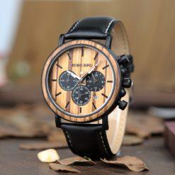Zegarek drewniany Bobo Bird Max P09-2 pasek