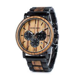Zegarek drewniany Bobo Bird Max P09-1 bransoleta