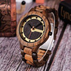 Zegarek drewniany Bobo Bird Holz Light Q09-1