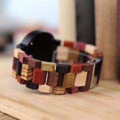 Zegarek drewniany Bobo Bird Rainbow Data P14-1 4