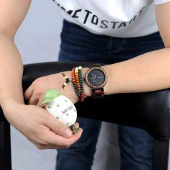 Zegarek drewniany Bobo Bird Rainbow Data P14-1 5
