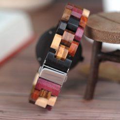 Zegarek drewniany Bobo Bird Rainbow Pic P14-3 3