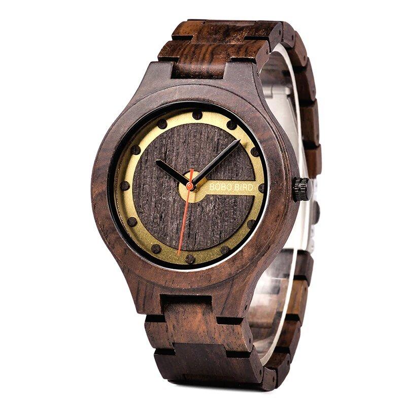 Zegarek drewniany Bobo Bird Holz Dark Q09-2 9