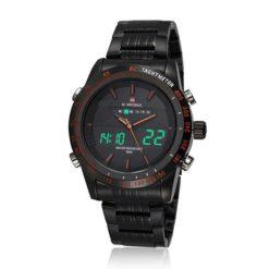 Zegarek Naviforce Power czarny pomarańczowy