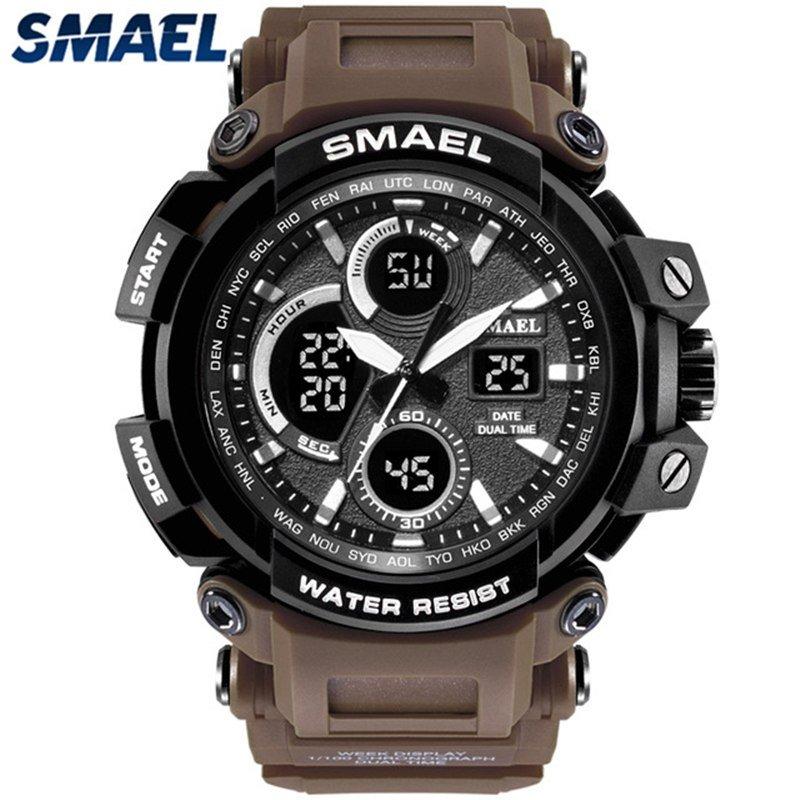 Zegarek Smael Hunter V1 brązowy 5