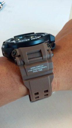 Zegarek Smael Hunter V1 brązowy 3