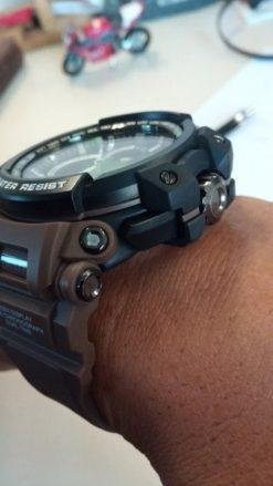 Zegarek Smael Hunter V1 brązowy 2