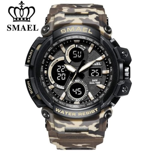 Zegarek Smael Hunter V1 khaki moro