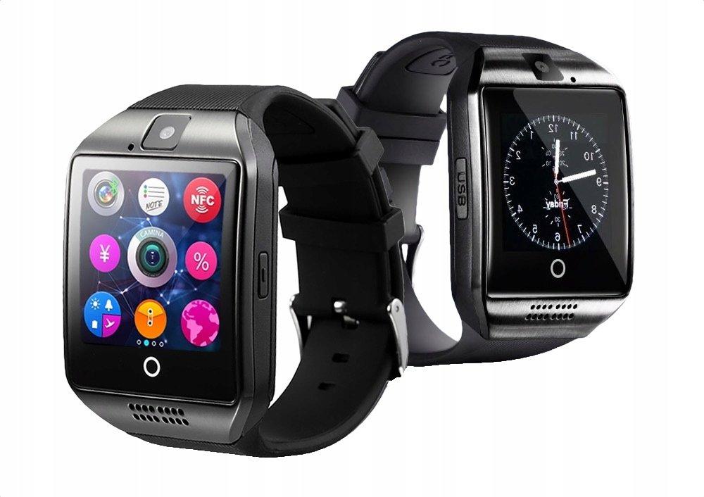 Smartwatch wielofunkcyjny czarny 6