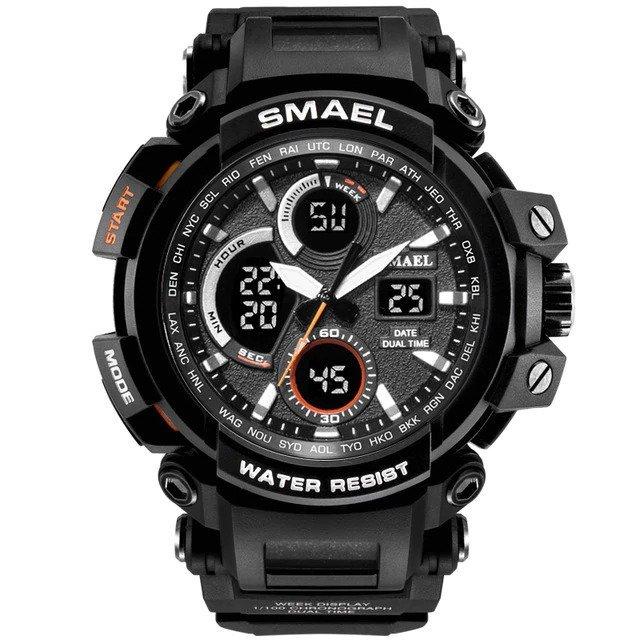 Zegarek Smael Hunter V1 czarny 11