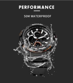 Zegarek Smael Hunter V1 czarny 10