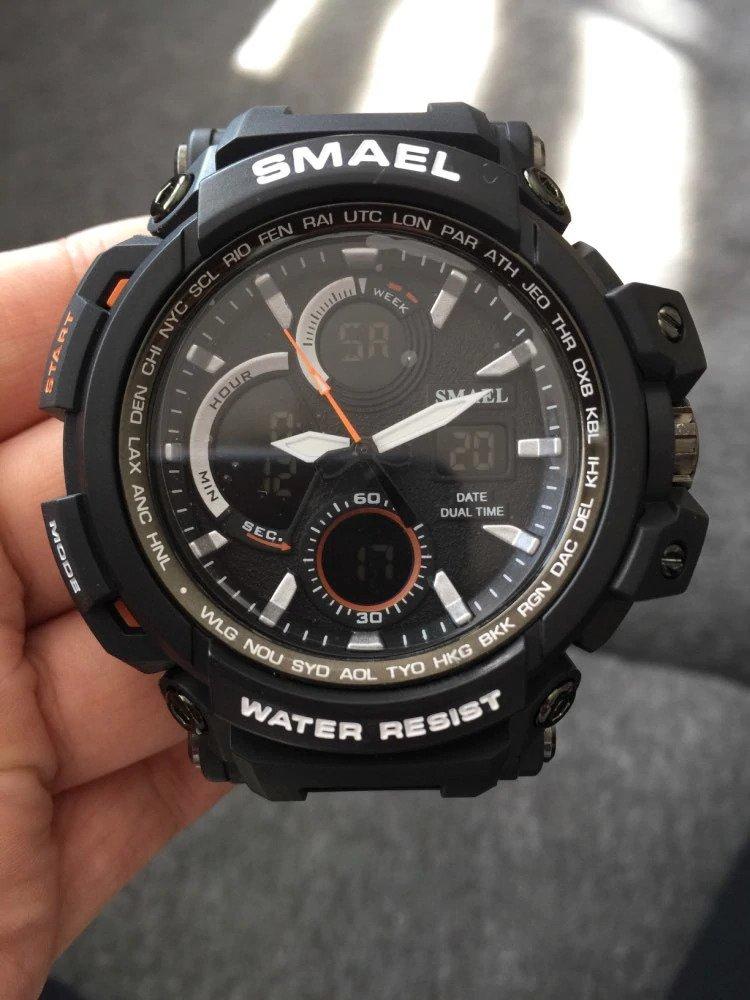 Zegarek Smael Hunter V1 czarny 21
