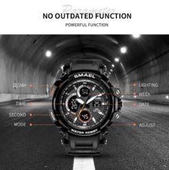 Zegarek Smael Hunter V1 czarny 9