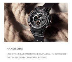 Zegarek Smael Hunter V1 czarny 7