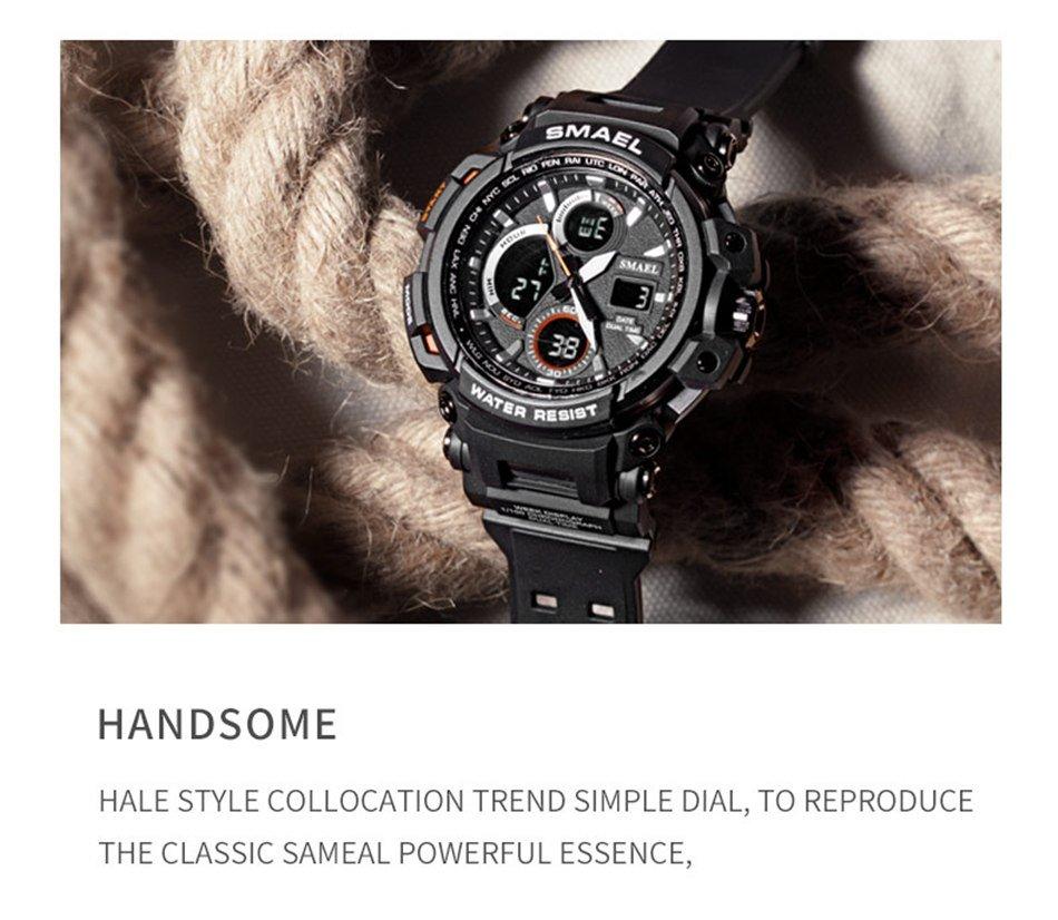 Zegarek Smael Hunter V1 czarny 15
