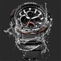 Zegarek Smael Hunter V1 czarny 5