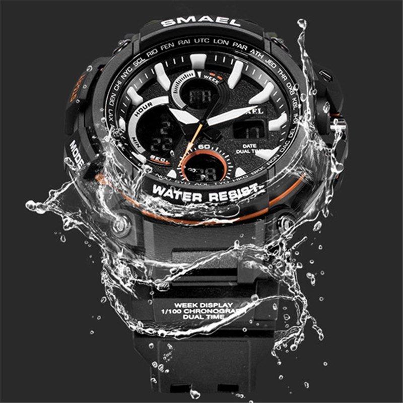 Zegarek Smael Hunter V1 czarny 17