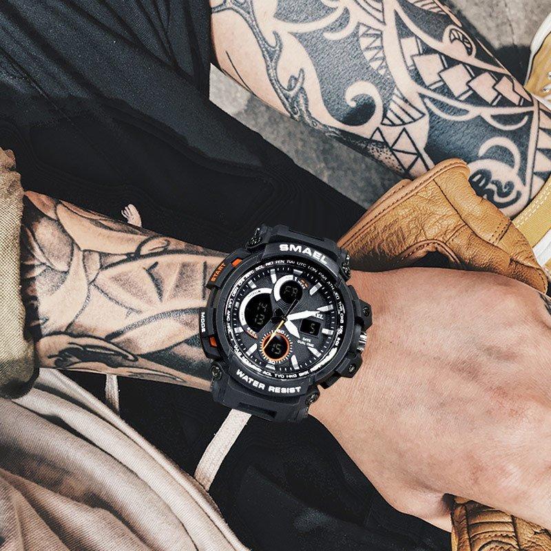 Zegarek Smael Hunter V1 czarny 19