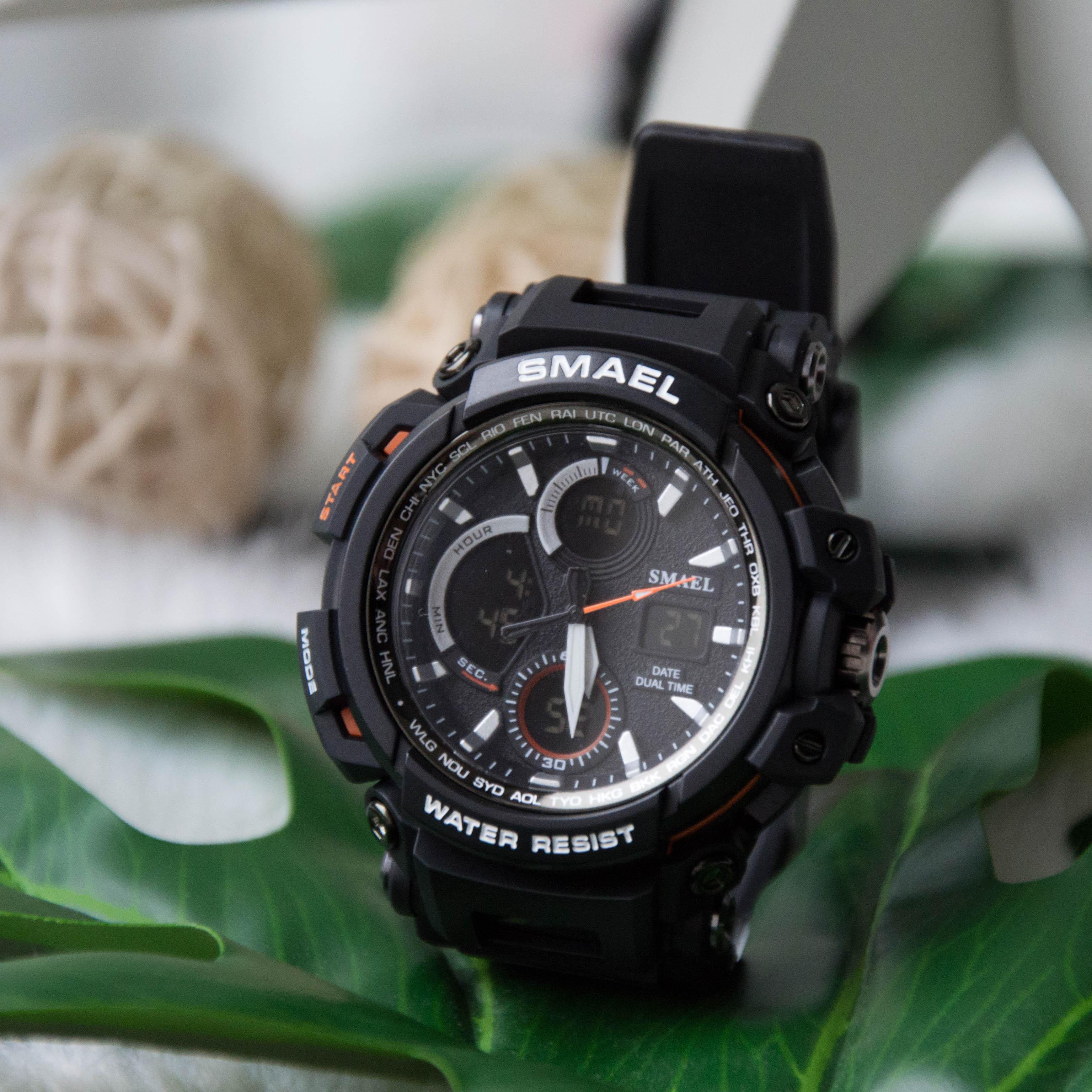 Zegarek Smael Hunter V1 czarny 20