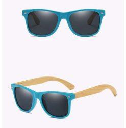 Drewniane okulary przeciwsłoneczne C01- czarne – bambus