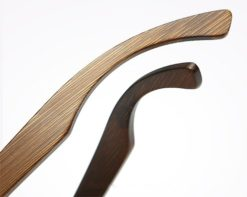 Drewniane okulary przeciwsłoneczne B01-czarne - bambus 2