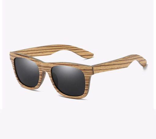 okulary drewniane b05 czarne miniaturka