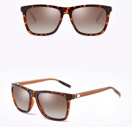 Okulary przeciwsłoneczne aluminiowe M02- panterki