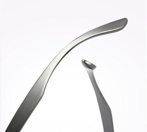 Okulary przeciwsłoneczne aluminiowe M04- czarne