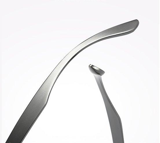 Okulary przeciwsłoneczne aluminiowe M04- czarne 7