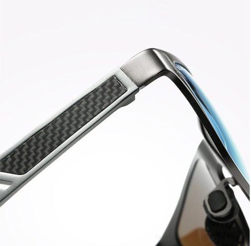 Aluminiowo magnezowe okulary przeciwsłoneczne detal 3