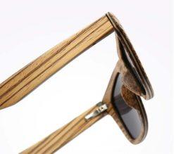okulary drewniane b05 detal 3