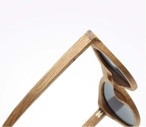 okulary dębowe b08 detal 3
