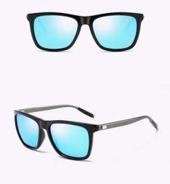 Okulary przeciwsłoneczne aluminiowe M02- niebieskie