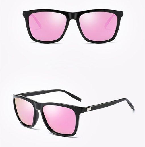 Okulary przeciwsłoneczne aluminiowe M02- fioletowe